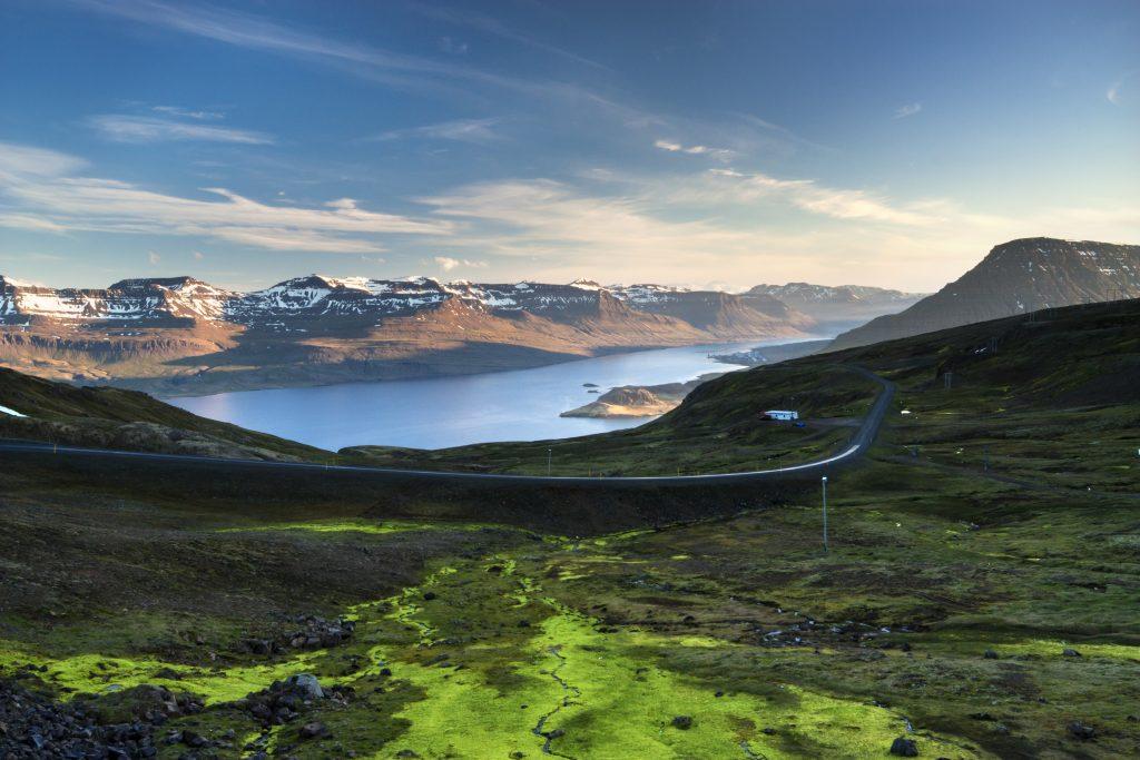 Raue Schönheit Island