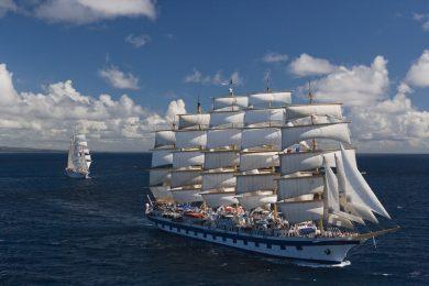 Die Royal Clipper unter vollen Segeln