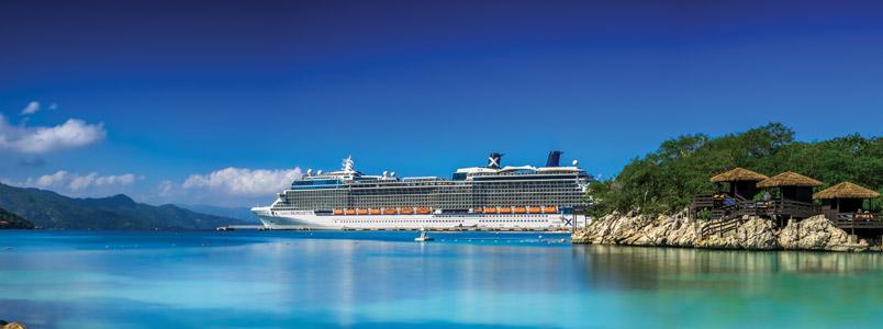 Celebrity Schiff vor Labadee