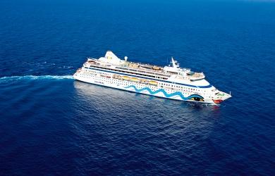 AIDAaura geht 2021 auf Weltreise