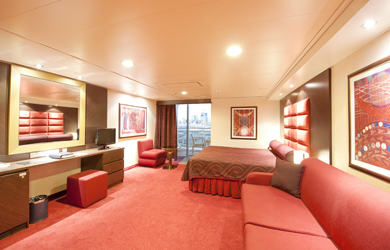 Accessible staterooms are often available for passengers with limited mobility