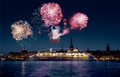 Silvesterreisen mit dem Schiff