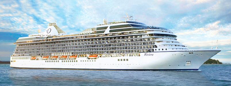 O-Klasse Schiff Riviera von Oceania Cruises