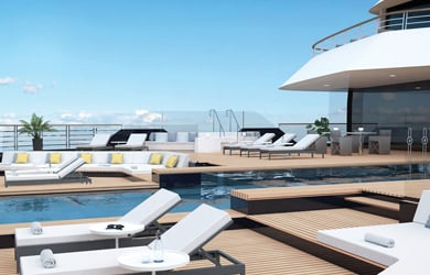 Pooldeck Ritz Carlton Yacht