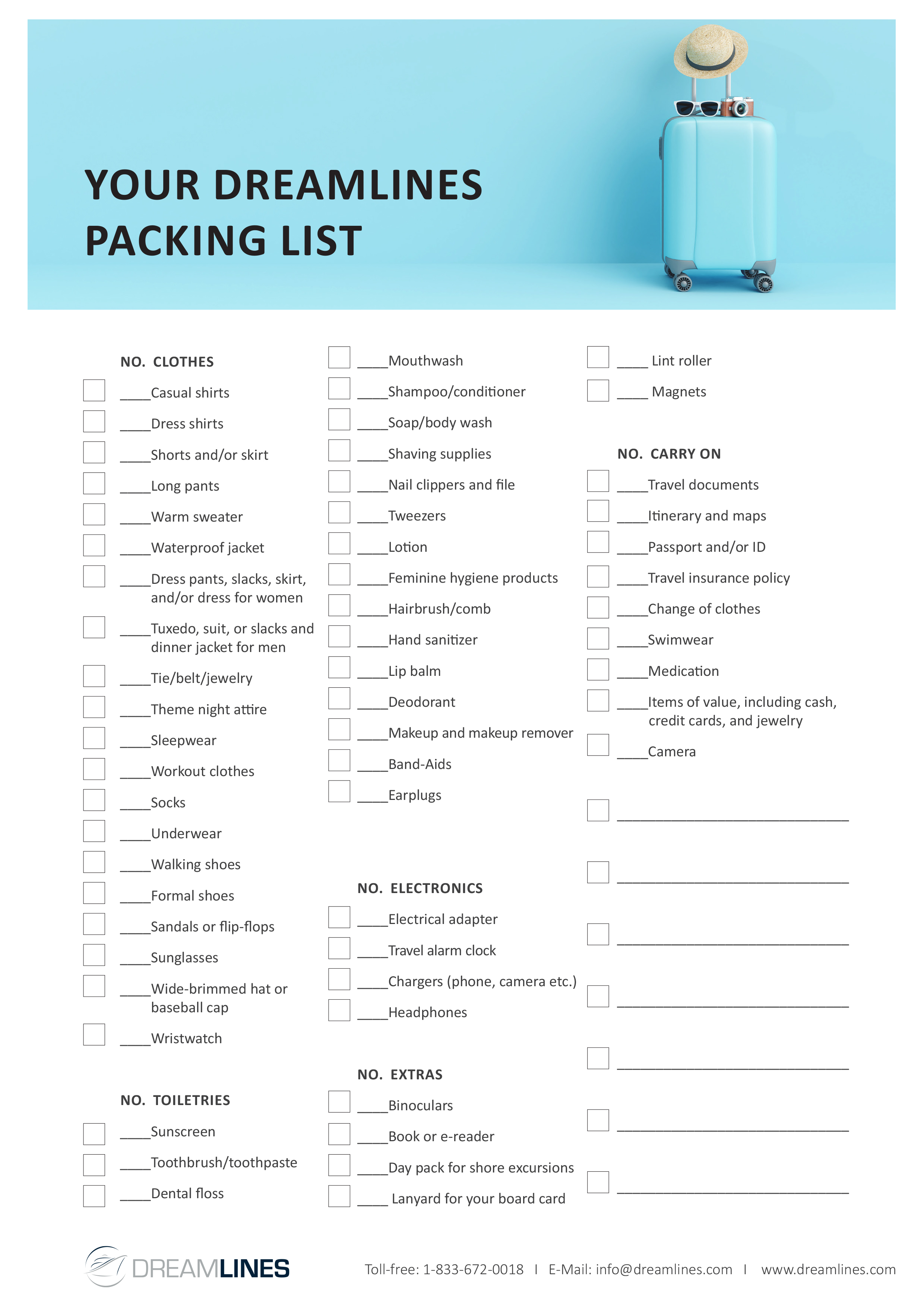 photograph regarding Printable Packing List for Hawaii identified as What towards Pack for a Cruise? Cruise Packing Record
