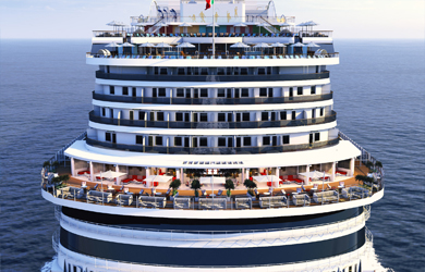 Costa Venezia Aft View