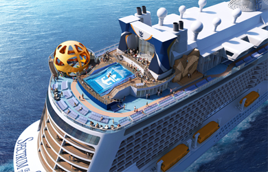 Spectrum of the Seas aft view