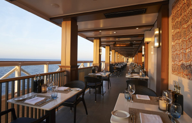 La Cucina restaurant at The Waterfront on Norwegian Joy cruise ship