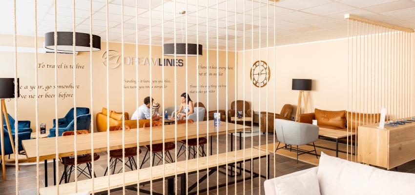 Dreamlines Lounge in Port of Barcelona