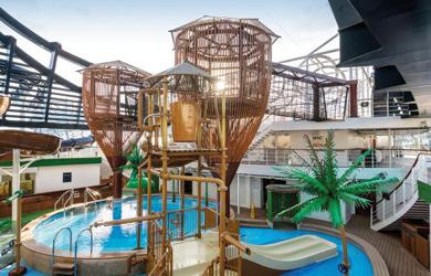 Atrium MSC Seaview