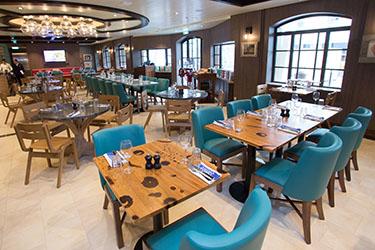 Italienische Cuisine Jamie Olivers auf der Symphony of the Seas
