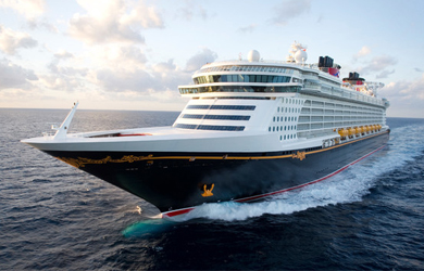 Die Disney Dream der Reederei Disney Cruises