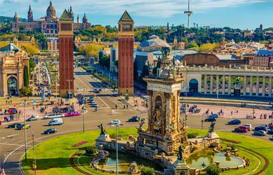 TOP Highlight Barcelona: Plaça d'España