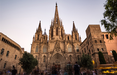 TOP Highlight Barcelona: Kathedrale La Seu, Barri Gòtic
