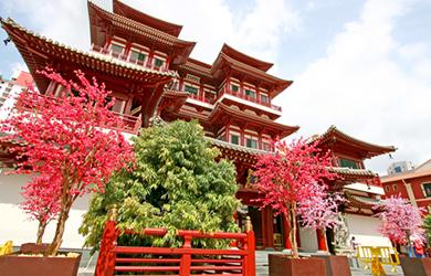 Buddha-Zahn-Tempel in Singapur
