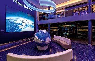 Das Meerleben Museum von TUI Cruises auf der Mein Schiff 3 zur Winterzeit genießen