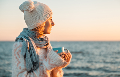 Seetage zur Winterzeit