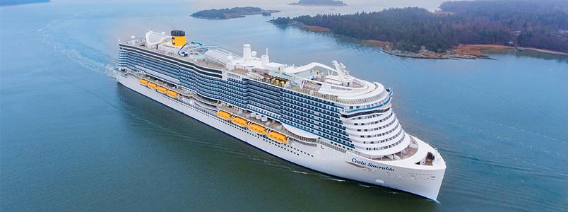 Die Costa Smeralda - das neue Flaggschiff von Costa Kreuzfahrten