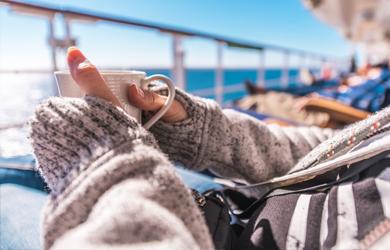 Sonne und frische Meerluft auf dem privaten Balkon genießen