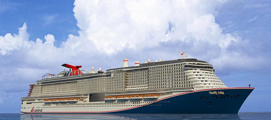 LNG-Schiff Mardi Gras von Carnival Cruise Line