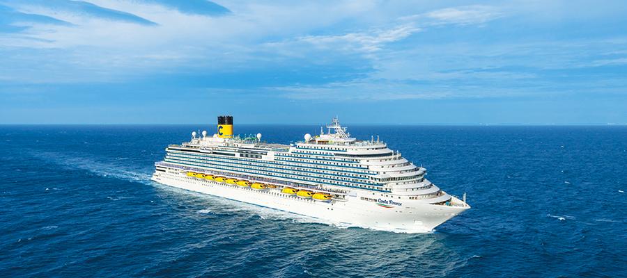 Neues Kreuzfahrtschiff 2020 - die Costa Firenze