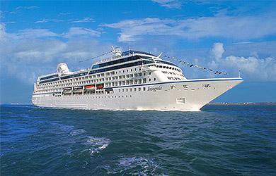 Die Insignia von Oceania Cruises