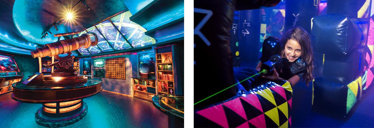 Royal Amplified: Lasertag und Escape Room