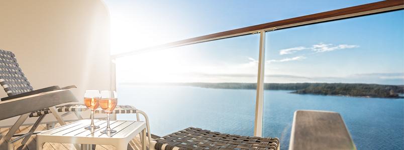 balkon- Garantiekabine