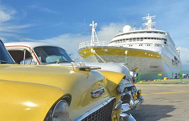 Das kleinste Kreuzfahrtschiff Deutschlands, die MS »Hamburg«, steuert im kommenden Jahr mehrfach Havanna an