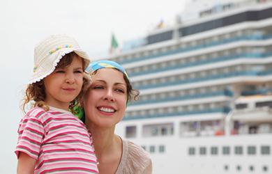 Kreuzfahrten sind eine tolle Möglcihkeit, entspannt mit der Familie zu reisen