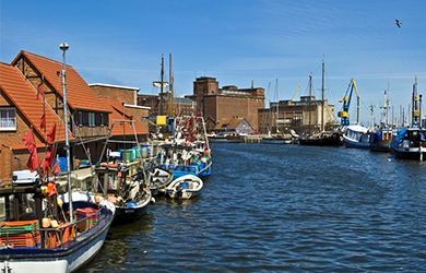 Im Alten Hafen von Wismar