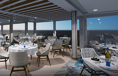 Die Seven Seas Splendor - das neuste Schiff von Regent Seven Seas Cruises
