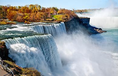 Die Niagara-Fälle - ein wahres Naturschauspiel