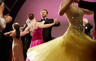 An Bord der Cunard-Schiffe können Gäste Tanzkurse belegen
