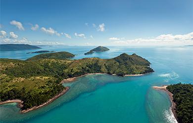 Ein wunderbares Ausflugsziel - die Whitsunday Islands in Australien