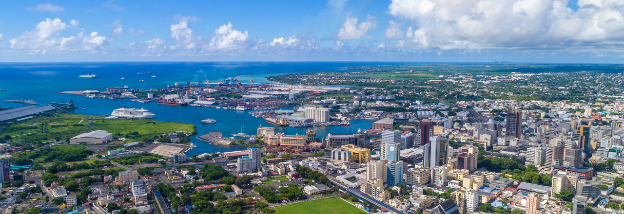 Skyline Port Louis, Mauritius