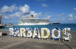 Costa Schiff vor Barbados