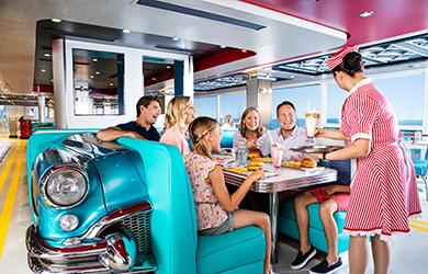 Norwegian Cruise Line NCL Restaurant American Diner