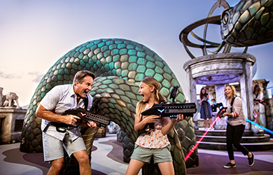 Norwegian Cruise Line NCL Lastertag an Bord mit der Familie