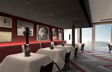 Celebrity Beyond Luminae Restaurant im The Retreat