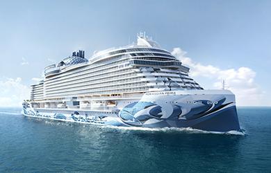 NCL's neues Schiff: Norwegian Prima