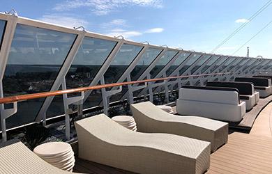 MSC Yacht Club Außenbereich