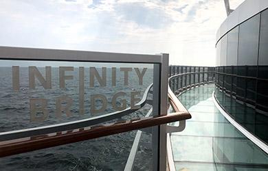 Infinity Bridge an Bord der MSC Seaview