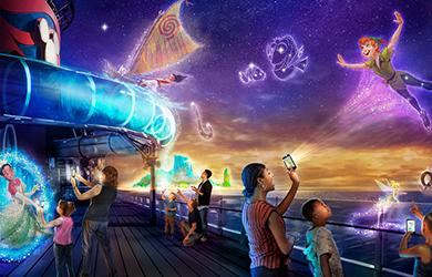 Disney Wish Uncharted Interaktives Abenteuer