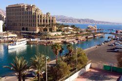 Eilat am Roten Meer