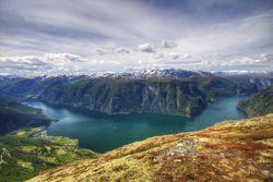 Unberührte Fjorde