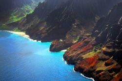 Kauai's Küste