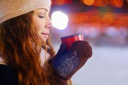 Weihnachtsmarkt in der Adventszeit