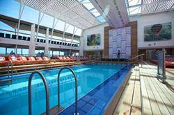 Poolbereich der Celebrity Silhouette