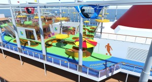 Skyride an Deck (c) Carnival Cruise Line